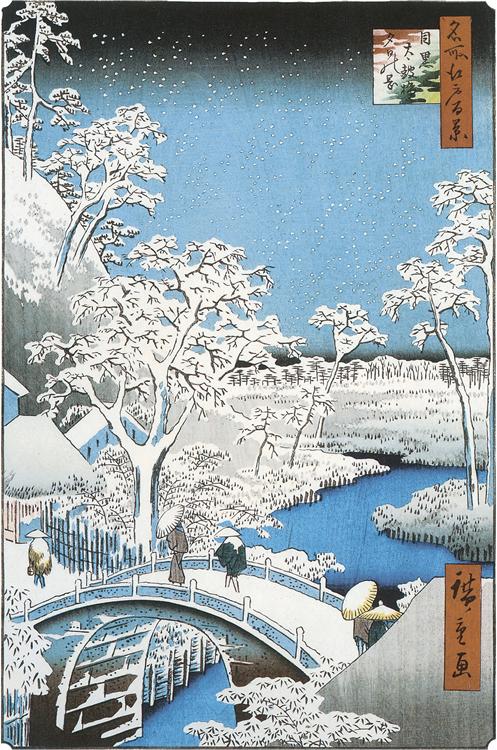 目黒川桜狂い咲き